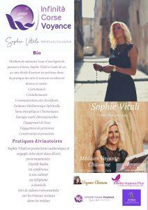 Sophie Vitali médium et voyante corse partout en France, Suisse et en Belgique
