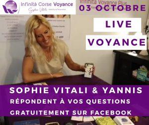 Live voyance gratuite / Sophie Vitali sur Facebook