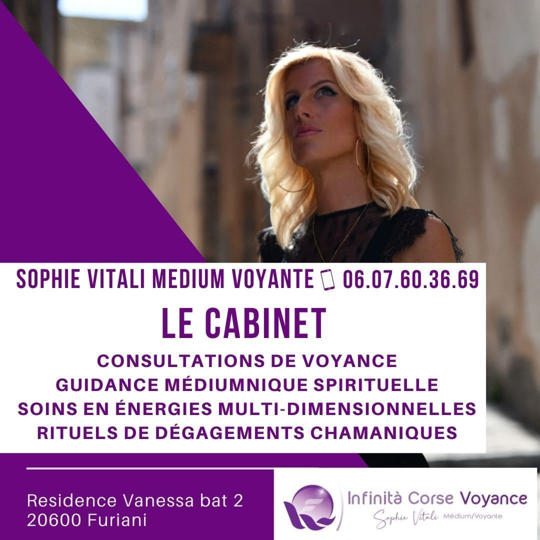 Le cabinet de voyance de Sophie Vitali en Corse