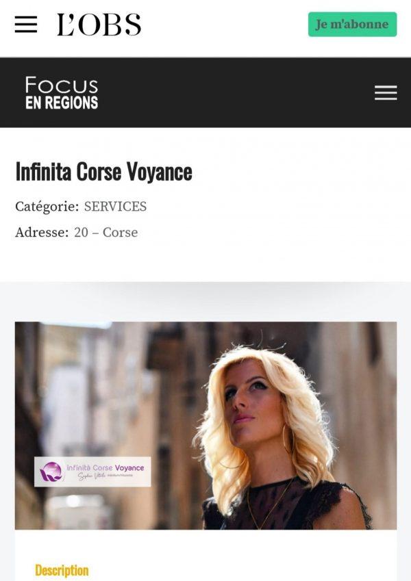 Sophie Vitali / Le nouvel OBS