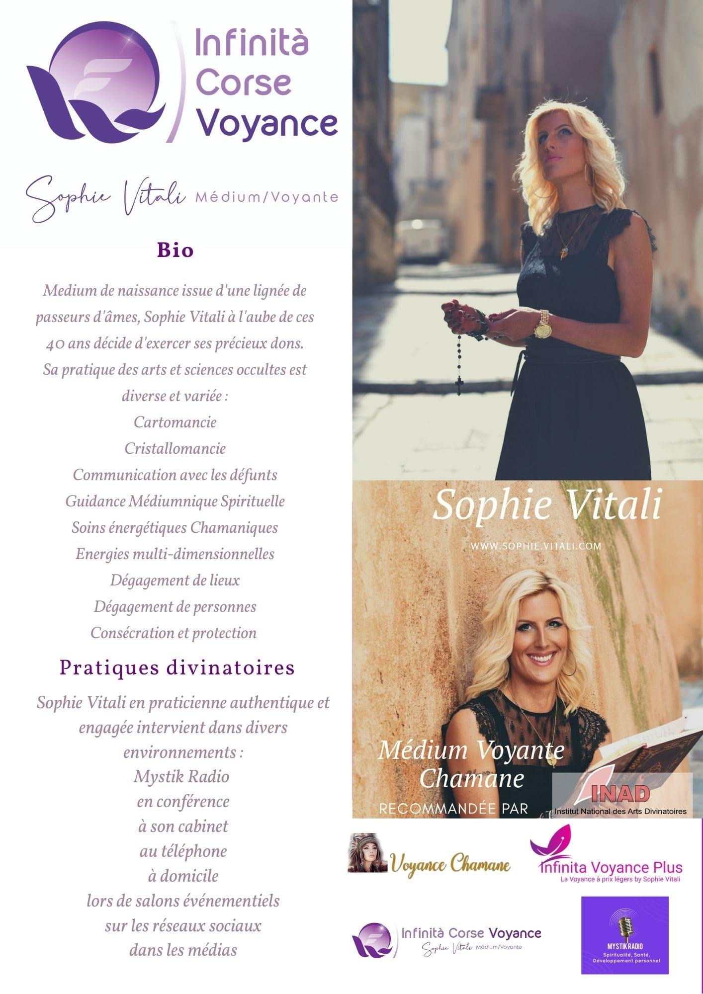 Le cabinet de voyance en Corse de Sophie Vitali médium et voyante