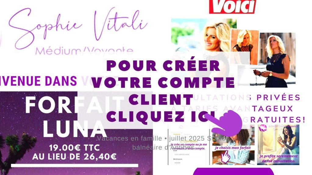 espace client / sophie-vitali.com