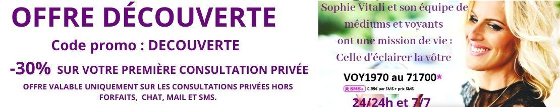 -30% sur votre première consultation / Infinità Corse Voyance