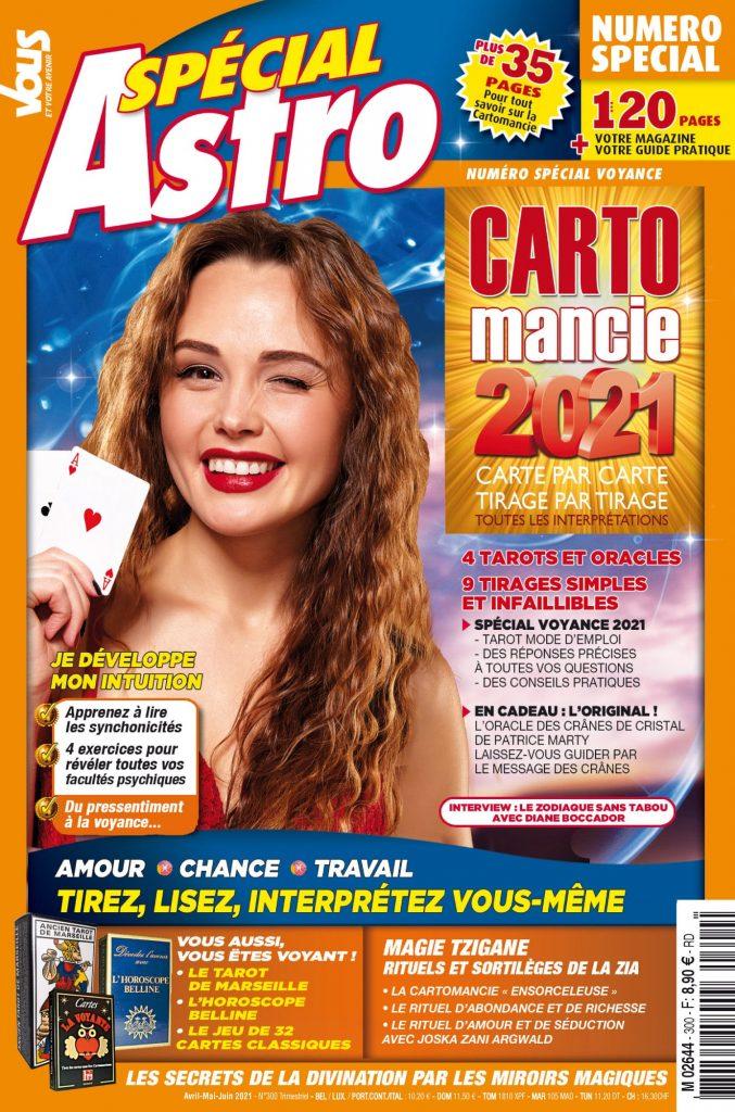 Sophie Vitali vous parle de cartomancie dans le nouveau numéro du magazine Vous et votre avenir