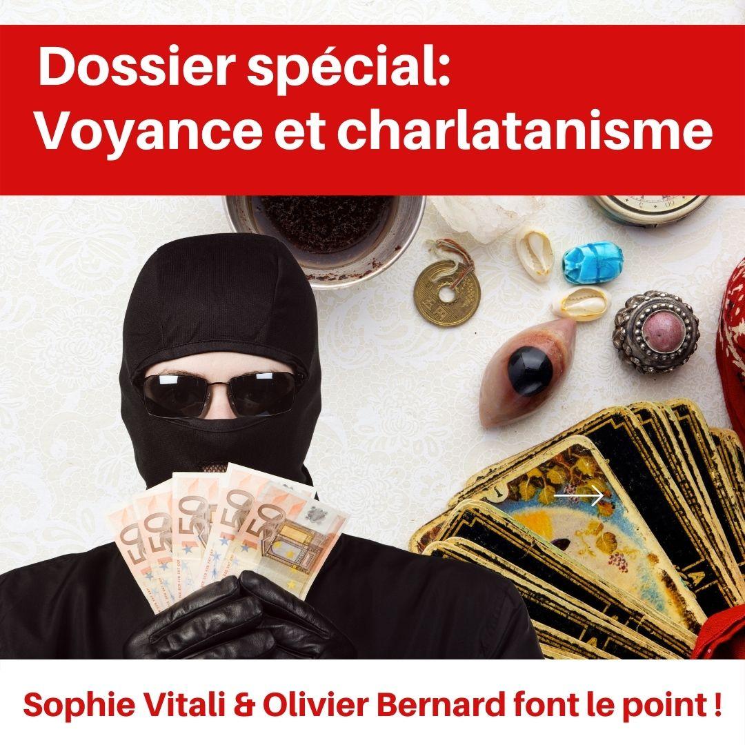 Sophie Vitali célèbre médium lutte contre le charlatanisme dans le nouveau numéro du magazine Infinità
